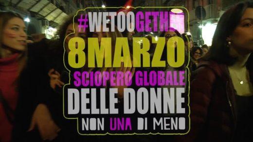 Napoli. Lottomarzo – Non una di meno #2018