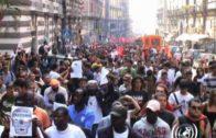 Cinquemila Antifascisti a Materdei: No a Casapound!