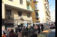 Napoli: Polizia aggredisce e arresta studenti e ciclisti !